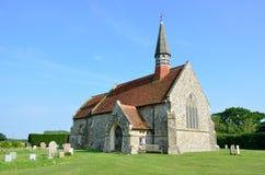 Igreja rural inglesa do país fotos de stock