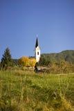 Igreja rural pitoresca no Tirol Foto de Stock