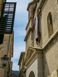 Igreja sérvio em Montenegro Fotografia de Stock Royalty Free
