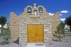Igreja sagrado do coração e missão, Quemado, nanômetro imagens de stock
