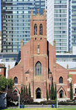 Igreja San Francisco do St. Patrick fotos de stock royalty free
