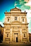 Igreja San Gimignano Italy fotos de stock royalty free