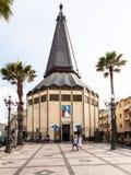 Igreja San Giovanni na cidade de Giardini Naxos Fotos de Stock