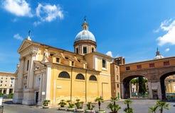 Igreja San Rocco em Roma, Itália Fotografia de Stock