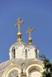 A igreja santamente da trindade. fotografia de stock