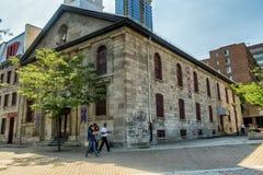 Igreja santamente de Sspirit do bairro chinês de Montreal Imagem de Stock Royalty Free