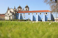Igreja Santo Agostinho, Leiria, Portugal. Exterior of Igreja Santo Agostinho in Leiria, Portugal on a sunny day Stock Photography