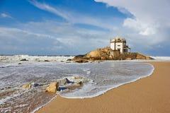 Igreja Senhor a Dinamarca Pedra em Porto, Portugal Imagens de Stock Royalty Free