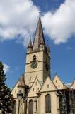 Igreja Sibiu Romênia de Evanghelical Imagem de Stock Royalty Free