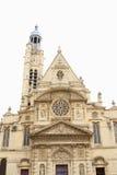 Igreja St-Etienne-du-Mont, Paris Fotografia de Stock Royalty Free