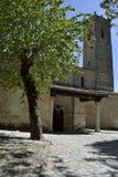 Igreja St Mary de la Peña, Brihuega, Espanha foto de stock
