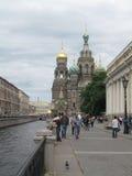 Igreja St Petersburg Rússia Fotos de Stock