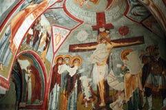 Igreja subterrânea, Turquia imagens de stock royalty free