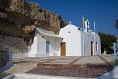 Igreja típica de greece Imagem de Stock Royalty Free