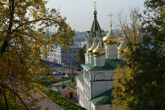 Igreja típica do russo Imagem de Stock Royalty Free