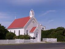 Igreja tasmaniana histórica de madeira velha Fotografia de Stock Royalty Free