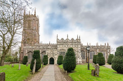 A igreja Tiverton de St Peter fotos de stock royalty free