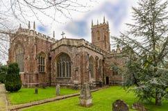 A igreja Tiverton de St Peter imagem de stock royalty free