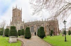 A igreja Tiverton de St Peter fotos de stock