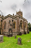 A igreja Tiverton de St Peter foto de stock
