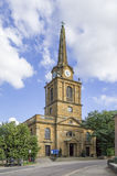 Igreja transversal santamente, Daventry Fotografia de Stock Royalty Free