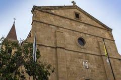 Igreja transversal santamente, Nicosia, Chipre Imagem de Stock