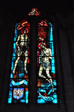 Igreja vítreo Imagens de Stock Royalty Free