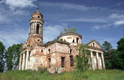 Igreja velha. Imagem de Stock Royalty Free