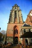 A igreja velha Aa-kerk ou a igreja de Der Aa Fotografia de Stock Royalty Free
