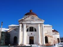 Igreja velha antiga do russo fotos de stock royalty free