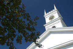 Igreja velha da baleação - Edgartown Foto de Stock Royalty Free