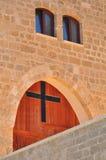 Igreja velha de Jaffa. Foto de Stock