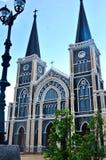 Igreja velha de Roman Catholic Christianity em Tailândia. fotos de stock