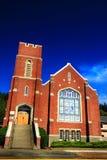 Igreja velha do tijolo imagem de stock royalty free