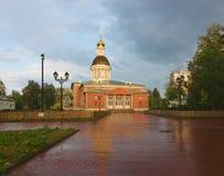 Igreja velha dos crentes da natividade Rogozhskoy Foto de Stock Royalty Free