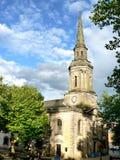 Igreja velha em Birmingham fotos de stock royalty free