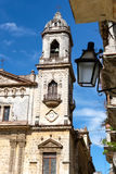 Igreja velha em Havana velho Fotos de Stock