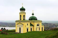 Igreja velha em Khotyn Fotografia de Stock Royalty Free