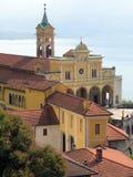 Igreja velha em Madonna del Sasso Imagem de Stock Royalty Free