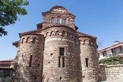 Igreja velha em Nessebar, Bulgária Imagem de Stock Royalty Free