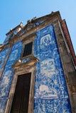 Igreja velha em Porto, Portugal fotografia de stock royalty free
