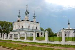 Igreja velha em Suzdal, Rússia Foto de Stock