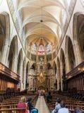Igreja velha em Toulouse fotografia de stock