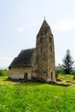 Igreja velha feita das pedras Imagem de Stock