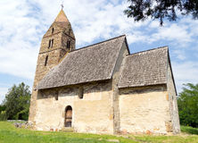 Igreja velha feita das pedras Fotos de Stock Royalty Free
