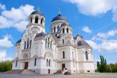 Igreja velha grande Fotografia de Stock