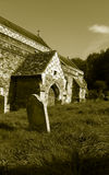 Igreja velha, Hastings, Sussex do leste, Inglaterra Foto de Stock Royalty Free