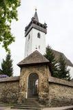 Igreja velha no Transcarpathia de Khust ucrânia Fotografia de Stock