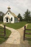 Igreja velha rural Fotos de Stock