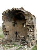 Igreja velha Yeghvard de Zoravar Imagem de Stock
